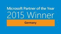 blue-zone AG ist Microsoft Partner des Jahres 2015 in Deutschland