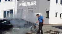 Industriedampfreiniger im Kundenzentrum testen