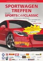 Sportwagentreffen inklusive SportsCarClassic 2015 - Car Wrapping live