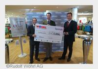 WÖHRL spendet 30.000 Euro an die Malteser