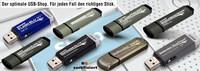 Hochqualitative, sichere und superschnelle USB-Spezialsticks im ONLINE Shop verfügbar