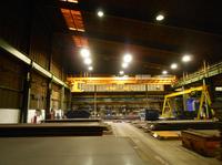 Neue LED-Beleuchtung für Stahlbauspezialisten