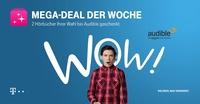2 kostenlose Hörbücher mit Telekom Mega-Deal und Audible