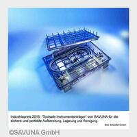 Industriepreis 2015 für SAVUNA