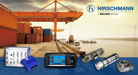 Weight verification of freight containers as from 2016 with retrofitted systems of Hirschmann MCS