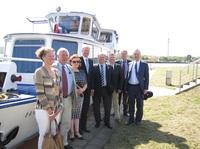 Ministerpräsident Haseloff nimmt maritime Fahrt auf
