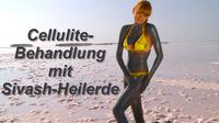 Cellulite-Behandlung mit Sivash-Heilerde zu Hause