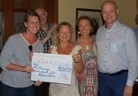 Spende: 8.000 Euro vom Salon Cubano für Menschen für Menschen