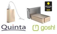 Quinta präsentiert prämierte JouleSurge Powerbank von Gosh