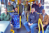 Mehr Sicherheit beim Busfahren