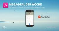 Telekom Mega-Deal mit Wunderlist: Ein Jahr Pro-Version geschenkt