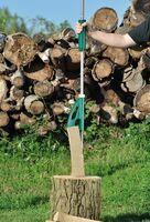AGT Holzspalter, Handbetrieb