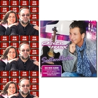 Roland Rube und Ariane Kranz On Air mit Oliver Frank
