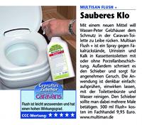 MultiSan® Flush  Toilettenspray mit Bestnote im Praxistest