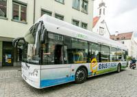 mona Verkehrsbetriebe testen E-Bus im Allgäu - für einen umweltfreundlichen Nahverkehr