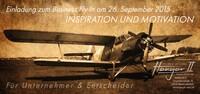 Einladung zum Business Fly In am 26. September am Flughafen Paderborn-Lippstadt