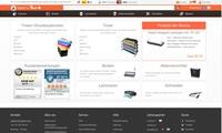 Alternativtinten kaufen: Peach Online Shop im neuen Design
