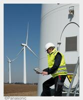 """Panasonic zeigt mit NEO Solutions auf """"Husum Wind"""" neueste mobile IT-Lösungen für effiziente Wartung und Instandhaltung"""