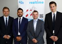 Trainees starten ihre SAP-Karriere bei der realtime AG