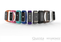 Quinta erweitert MyKronoz Portfolio mit Activity Tracker ZeFit2