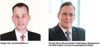 BISG und GPS Projekt- und Servicemanagement GmbH setzen sich für professionelle IT-Infrastrukturen nach Maß ein
