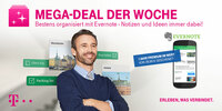 Bestens organisiert mit dem Telekom Mega-Deal und Evernote