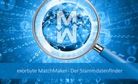exorbyte matchmaker - Der Stammdatenfinder