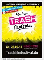 Berliner TRASH Film Festival - 26.09.15 -