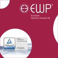 European Warranty Partners SE: TÜV verteilt Bestnoten