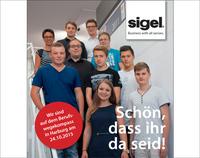 Sigel begrüßt Auszubildende und duale Studenten