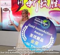 Maja Prinzessin von Hohenzollern gewinnt ASIA DESIGN AWARD
