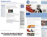 Sanitär Brodbeck mit neuer Website online