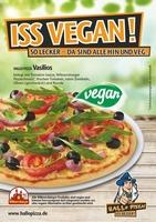 Hallo Pizza ist mit veganer Pizza bundesweit Vorreiter