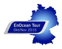 EnOcean-Tour 2015: Gebäudeautomation mit batterielosem Funk auf Veranstaltungsreise