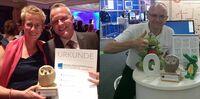 Preisregen für GABAL Autoren: Markus Weidner und Barbara Messer holen Silber und Bronze beim Europäischen Preis für Training, Beratung und Coaching