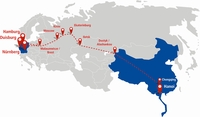 Hellmann Worldwide Logistics erweitert das Angebot Rail Eurasia um das Land Vietnam