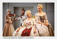 """NEUES PROGRAMM DER BERLINER RESIDENZ KONZERTE:  """"BACH ZU GAST AM HOFE"""" IN DER GROßEN ORANGERIE BERLIN"""