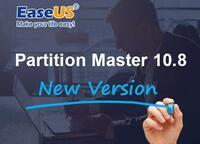 EaseUS Partition Master 10.8 Version