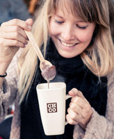 Heiße Schokolade am Löffel - der Hotchocspoon der Chocolate Company