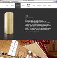 Edel, straight, modern: ZMP GmbH präsentiert neue Website