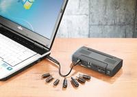 revolt 5in1 Notebook-Powerbank mit Kfz-Starthilfe, 12.000 mAh