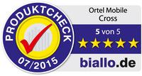 Ausgezeichnet durch Europa telefonieren:  Ortel Mobile erhält für CROSS begehrtes Biallo-Gütesiegel