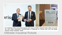 MiR100 gewinnt DIRA Automatisierungspreis 2015