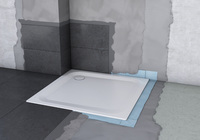 Neues Dichtsystem von Bette für Bade- und Duschwannen