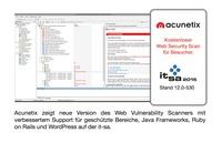 Acunetix stellt neueste Version des Vulnerability Scanners auf it-sa vor