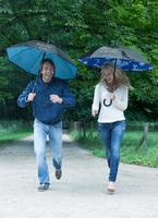 Regenschirme im Herbst wirksam als Werbeartikel einsetzen