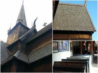 Stabkirchen - eigenständige romanische skandinavische Baugesinnung