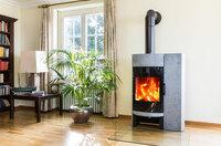 KHI: Kaminfeuer - Richtig heizen mit festen Brennstoffen