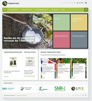 Aufschaltung der neuen Internetpräsenz - www.timberfarm.de