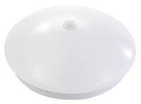 LED-Wand- und Deckenleuchte mit PIR-Sensor, 8 bzw. 20 W, Ø 19 bzw. 38 cm, warmweiss